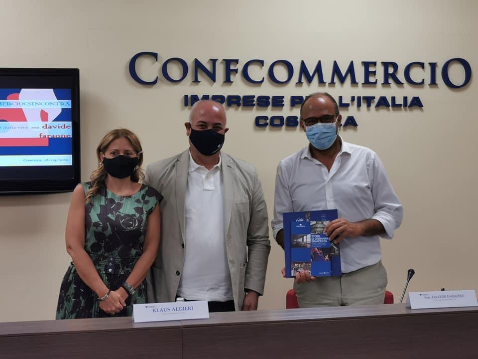 Confcommercio Cosenza incontra il Sen. Davide Faraone