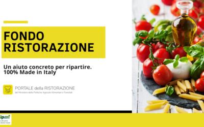 Fondo ristorazione. Contributi per acquisto di prodotti made in Italy