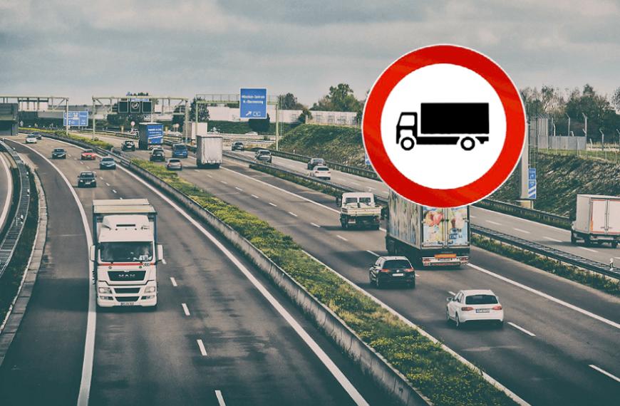 Sospensione divieti di circolazione mezzi pesanti per le domeniche di febbraio