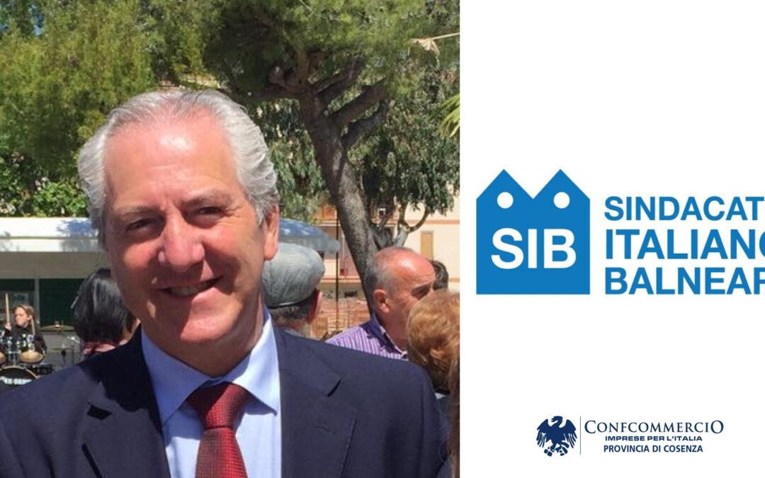 Antonio Giannotti rieletto alla guida del SIB (Sindacato Italiano Balneari) provincia di Cosenza
