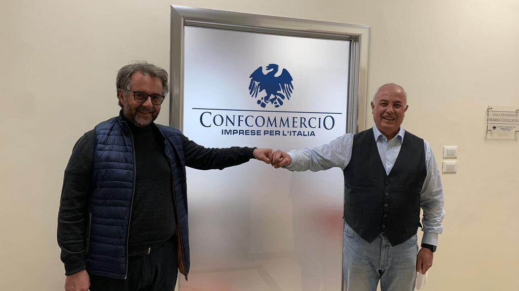 Visita del direttore del Conservatorio di Cosenza a Confcommercio