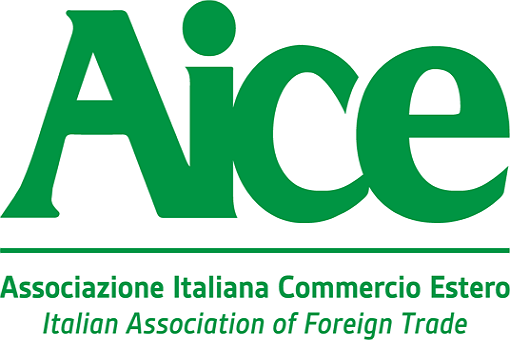 logo associazione italiana commercio estero