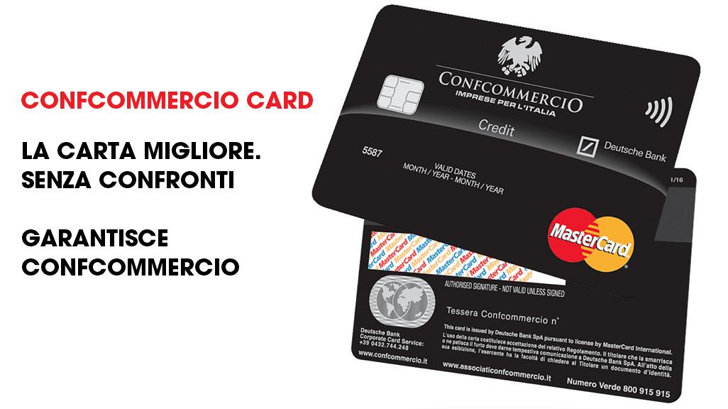 Confcommercio card. La carta migliore per te e per il tuo business