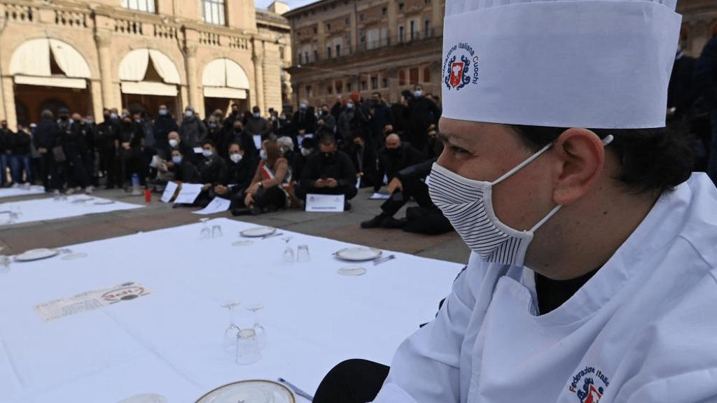 ristoratori in piazza
