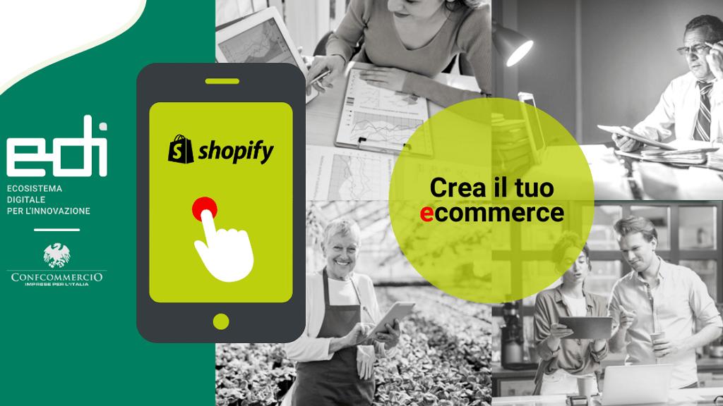 Convenzione Shopify. Crea il tuo e-commerce