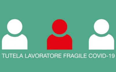 Lavoratori fragili 2021: proroga al 30 giugno delle tutele Covid
