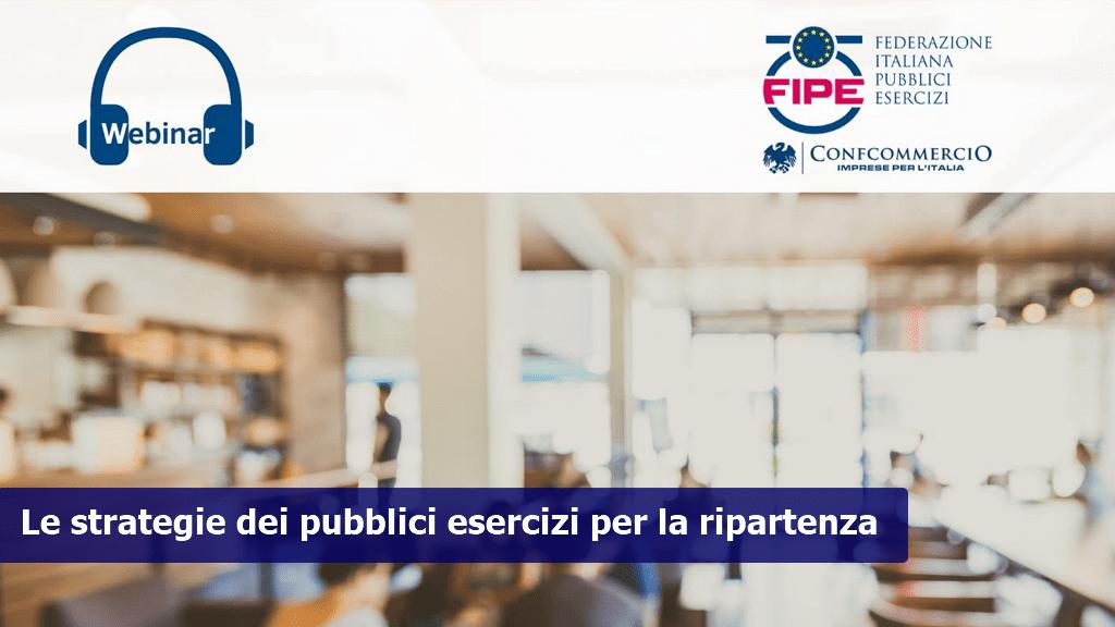 Webinar – Le strategie dei pubblici esercizi per la ripartenza