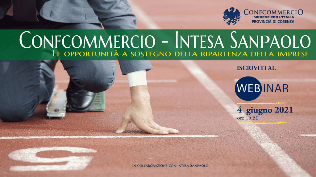 Webinar Confcommercio Cosenza – Intesa Sanpaolo