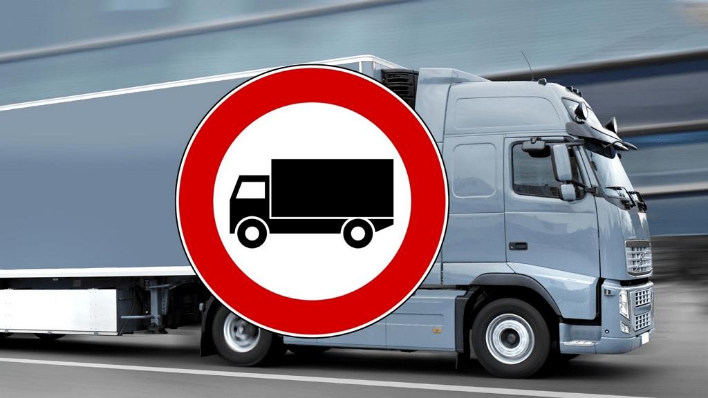 divieto circolazione mezzi pesanti