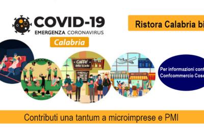 Ristora Calabria – bis. Contributi a micro e piccole imprese