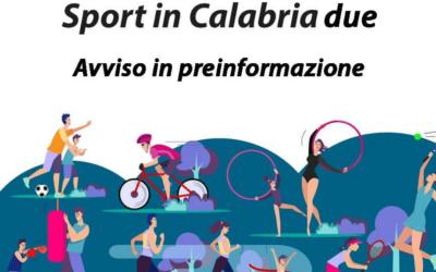 Sport in Calabria Due. Contributi alle associazioni e società sportive