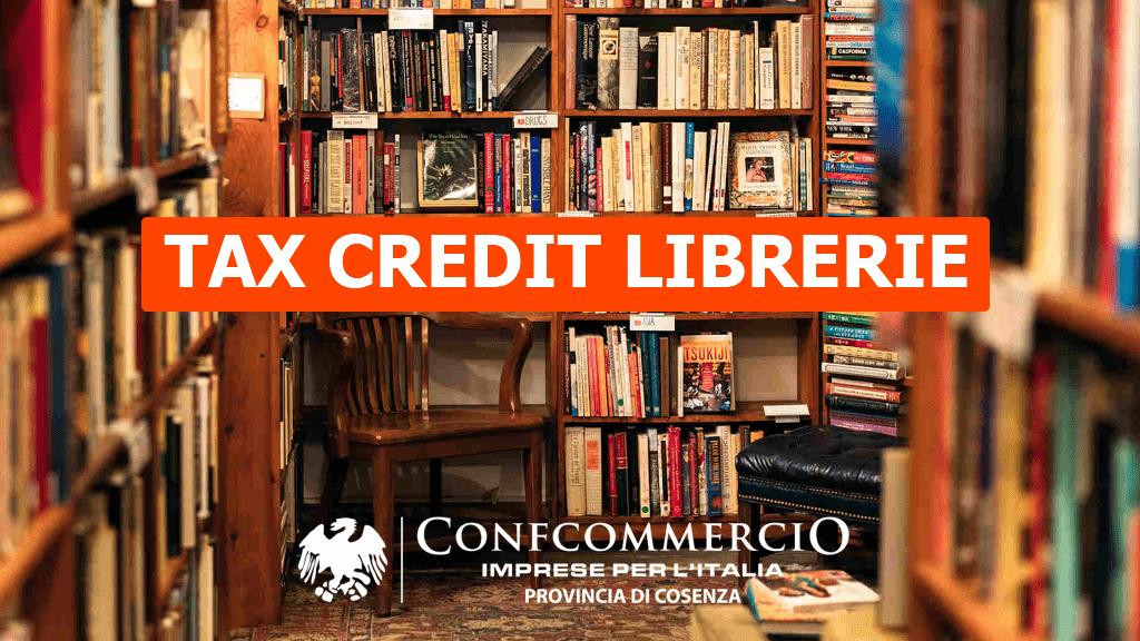 Tax Credit librerie – Termine presentazione istanze