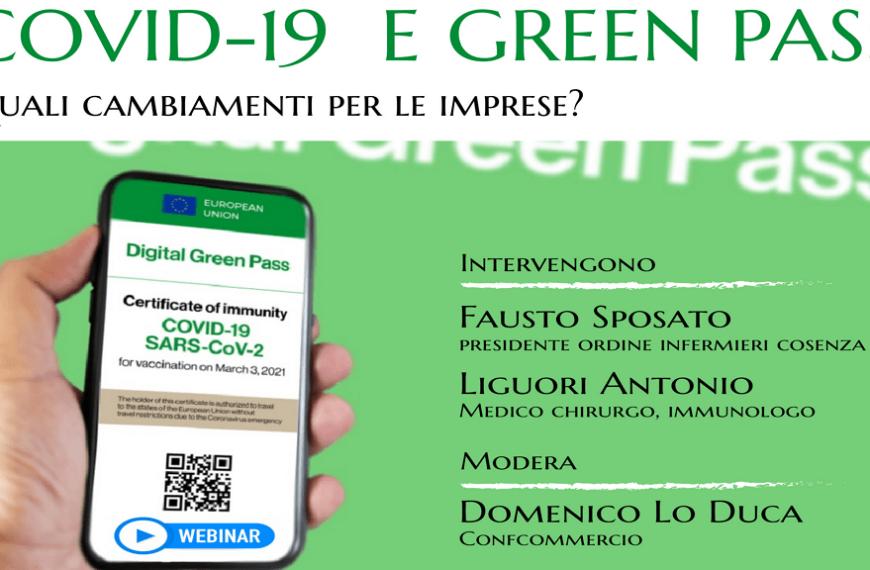 Covid-19 e Green Pass. Quali cambiamenti per le imprese?