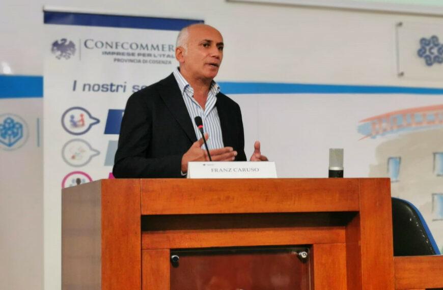 Gli auguri di Confcommercio al neo sindaco di Cosenza Franz Caruso