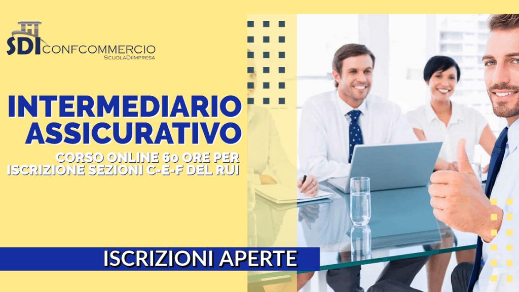 Corso online abilitante per intermediario assicurativo